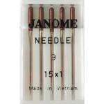 Набор игл Janome 15x1 (Шелк и микрофаза)