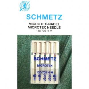 Набір голок Schmetz Microtex №60-80