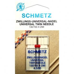 Игла двойная Schmetz Universal №80/4,0