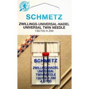 Голка подвійна Schmetz Universal №100/4,0