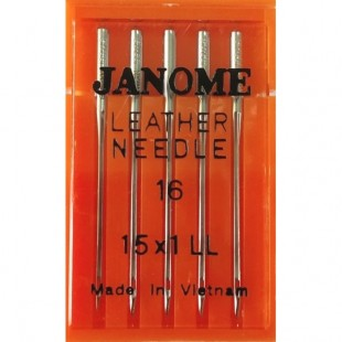 Набір голок Janome Leather Needle