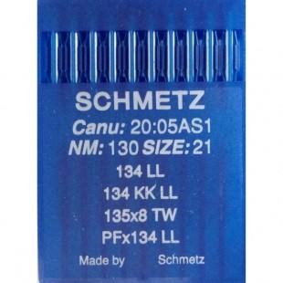 Набор игл Schmetz PF x 134 LL № 130