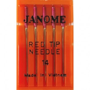 Набор игл Janome Red Tip Needle