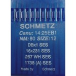 Набор игл Schmetz DB x 1 № 80 SES