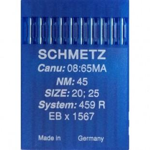 Набор игл Schmetz 459 R № 45