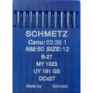 Набор игл Schmetz B-27 № 80