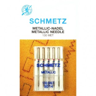 Набор игл Schmetz Metallic №90