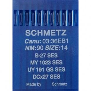 Набір голок Schmetz B-27 № 90 SES