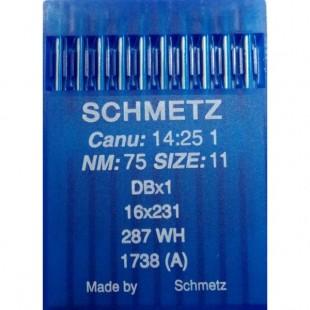 Набор игл Schmetz DB x 1 № 75