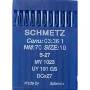 Набір голок Schmetz B-27 № 70