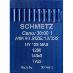 Набор игл Schmetz UY 128 GAS № 80