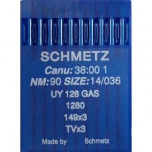 Набір голок Schmetz UY 128 GAS № 90