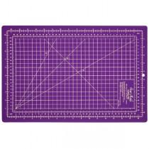 Підкладка матік для розкрою 45x30 фіолетовий