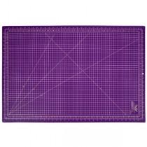 Підкладка матік для розкрою 90x60 фіолетовий