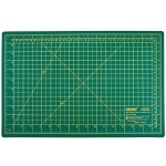 Подкладка матик для раскроя 45x30 зелёный