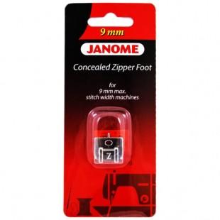 Лапка для вшивания потайной молнии Janome 202-144-009