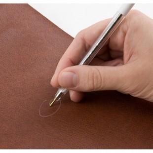 716 Ручка серебристая для разметки на коже