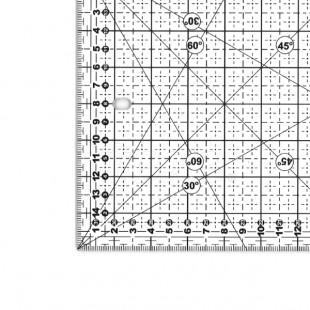 Texi 4065 Лінійка для печворку та квілтінга 160 х 320 мм