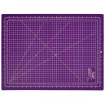 Підкладка матік для розкрою 60x45 фіолетовий