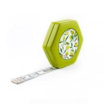 Сантиметр автоматический двусторонний зелёний с магнитом