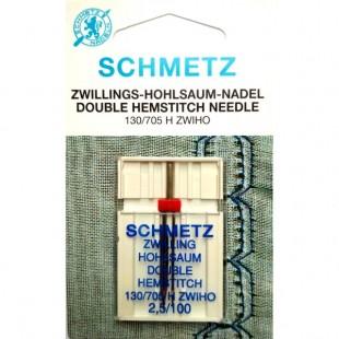 Голка подвійна Schmetz Zwiho