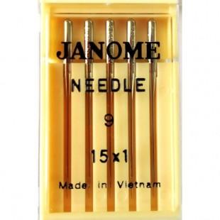 Набор игл Janome 15x1 №65 (универсальные)