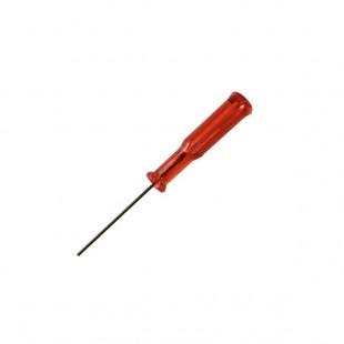 Отвертка-1,5 мм шестигранник красная
