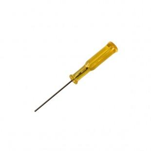 Отвертка-1,6 мм шестигранник желтая