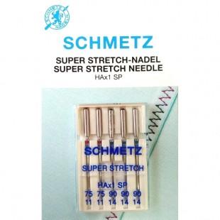 Набор игл Schmetz Super Stretch №75-90
