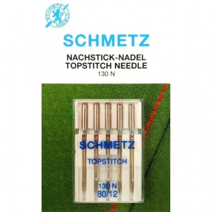 Набор игл Schmetz TopStitch №80