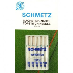Набор игл Schmetz TopStitch №80-100