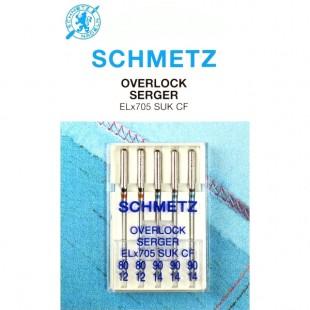 Набір голок Schmetz Overlok SUK №80-90